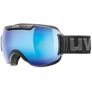 Gogle Uvex - Downhill 2000 FM Black Mat / Mirror Blue Clear