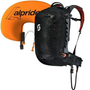 Plecak lawinowy Scott Alpride zestaw Backcountry Guide AP 30 Kit Black/Burnt Orange 30