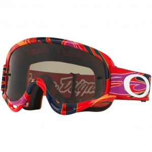 Gogle Oakley O-Frame XS MX Troy Lee Bright Red / Dark Gray
