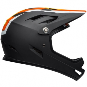 Kask rowerowy BELL Sanction Agility Matte Black Yellow Orange R: S(52-54cm)