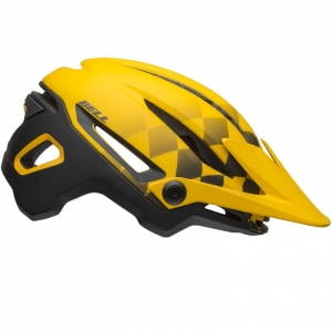 Kask rowerowy BELL Sixer  MIPS Finishline Matte Yellow Black R: M (55-59cm)
