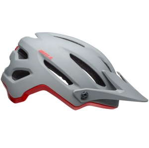 Kask rowerowy BELL 4Forty Cliffhanger Matte Gloss Gray Crimson R: M(55–59cm)