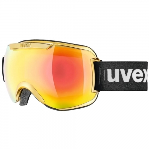 Gogle Uvex Gold Olimpic Edition - Downhill 2000 FM Chrome