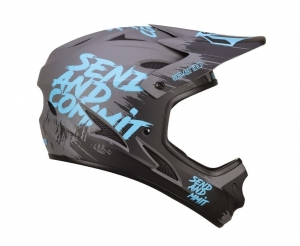 Kask rowerowy 7iDP M1 Tactic  Send + Commit Grey Blue R: XL (60-61cm)