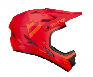 Kask rowerowy 7iDP M1 Tactic  Bright Red Light R: XS (53-54cm)