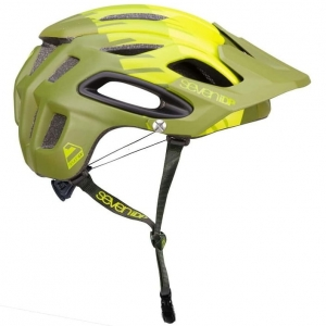 Kask rowerowy 7iDP M2 Tactic 'BOA' LIME/MID/OLIVE GREEN R: XL/XXL (60-63cm)