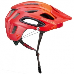 Kask rowerowy 7iDP M2 Tactic 'BOA' LIGHT/ MID/DARK RED R: XL/XXL (60-63cm)