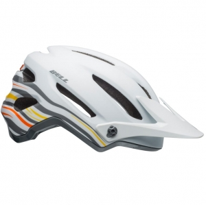 Kask rowerowy BELL 4Forty Rush Matte Gloss White Orange R: S (52–56 cm)