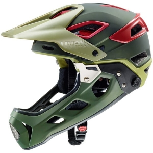 Kask rowerowy Uvex Jakkyl HDE olive red mat t  R: XS/S (52-57cm)