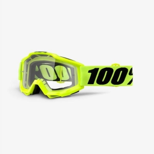 Gogle 100% Accuri Fluo - Yellow / Clear