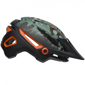Kask rowerowy BELL Sixer MIPS Oak Matte Black Green Orange R: L (58-62cm)