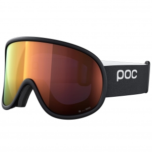Gogle POC Retina Big Clarity Uranium Black / Spectris Orange