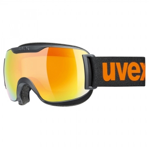 Gogle Uvex - Downhill 2000 CV Black Mat z szybą Mirror Orange Colorvision Yellow