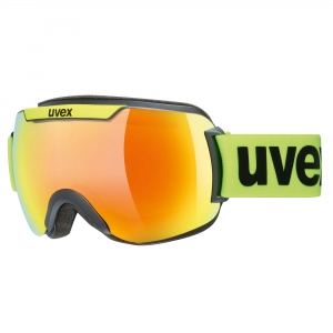 Gogle Uvex - Downhill 2000 CV Yellow Lime z szybą Mirror Orange Colorvision Green