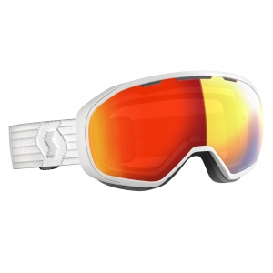 Gogle Scott Fix LS white / light sensitive red chrome photochromic