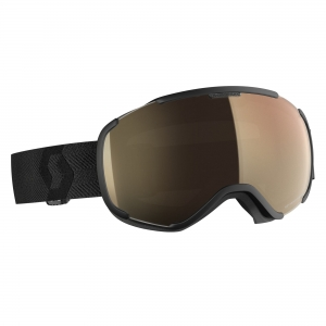 Gogle Scott Faze II LS black / light sensitive bronze chrome photochromic