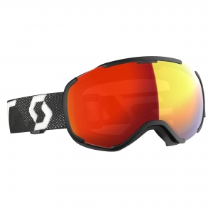 Gogle Scott Faze II LS black/white / light sensitive red chrome photochromic