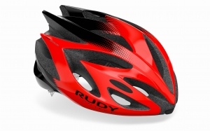 KASK ROWEROWY RUDY PROJECT RUSH RED BLACK  R: L (59 – 62 CM)