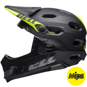 Kask rowerowy BELL SUPER DH MIPS Matte Gloss Black R: M(55-59cm)