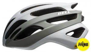 Kask rowerowy BELL Falcon MIPS matte gloss white gray R: M (55-59cm)