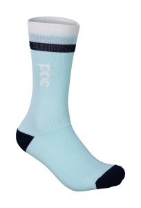 Skarpety rowerowe POC Essential Mid Length Sock CALCITE BLUE/APOPHYLLITE GREEN R: S(37-38)