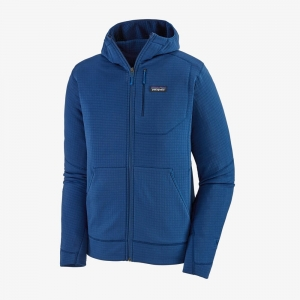 Bluza Patagonia Men's  R1 Fleece Full-Zip Hoody Superior Blue R: M