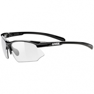 Okulary Uvex - Sportstyle 802 V Black / Variomatic Smoke