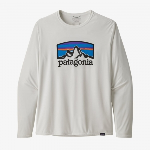 Bluza Patagonia - Men's Long-Sleeved Capilene® Cool Daily Graphic Fitz Roy Horizons R: S