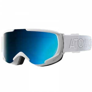 Gogle Atomic - Savor S ML White / Blue