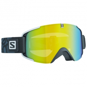 Gogle Salomon XVIEW Black / LoLight Light Yellow