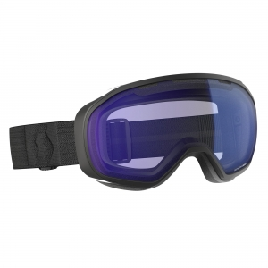 Gogle Scott Fix Black / Illuminator Blue Chrome