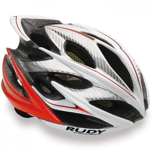 Kask Rudy Project Windmax White/Red Fluo Rozm: L (58-62cm)