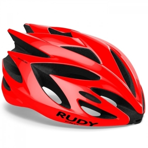 Kask Rudy Project Rush Red Fire Shiny R:  L(59-62cm)