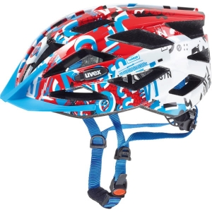 Kask rowerowy juniorski Uvex Air Wing White Red R:52-57cm
