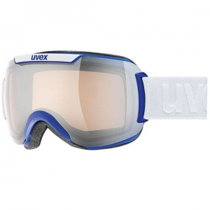 Gogle Uvex - Downhill 2000 VLM Cobaltblue Mat / Litemirror Silver Variomatic Clear