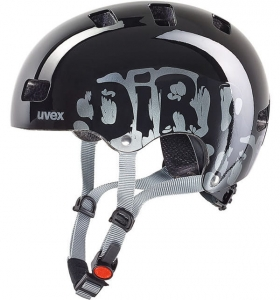 Kask juniorski Uvex Kid 3 Blackout Black R: 51-55cm