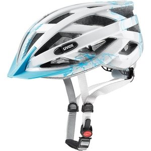Kask rowerowy juniorski Uvex Air Wing Light Blue Silver R: 52-57cm