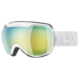 Gogle Uvex - Downhill 2000 FM White Mat / Mirror Green