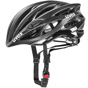 Kask rowerowy Uvex Race 1 Black Mat - Shiny R: 51-55cm