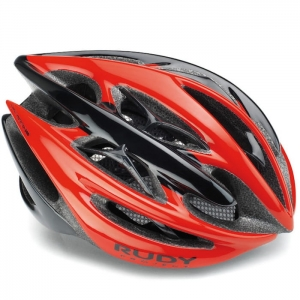 Kask rowerowy Rudy Project Sterling+ Red Black Shiny R: L (58-62cm)