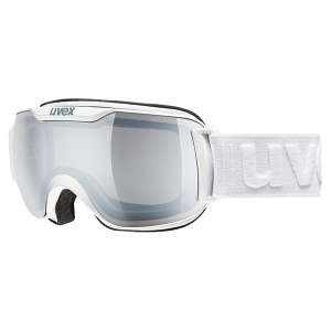 Gogle Uvex - Downhill 2000 S LM White Mat Litemirror Silver Clear