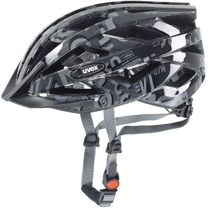 Kask rowerowy juniorski Uvex Air Wing Dark Silver Black R: 52-57cm