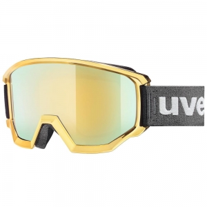 Gogle Uvex Gold Olimpic Edition - Athletic FM Glod