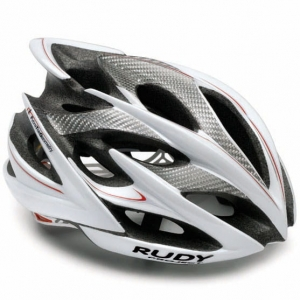 Kask Rudy Project Windmax White Silver Red Shiny R: L (58-62cm)