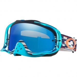 Gogle Oakley Bike MX Crowbar Tld Code Rwb / Black Ice Iridium