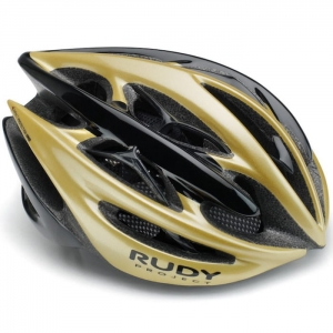 Kask rowerowy Rudy Project Sterling+ Yellow Gold Black Shiny R: S/M(54-58cm)