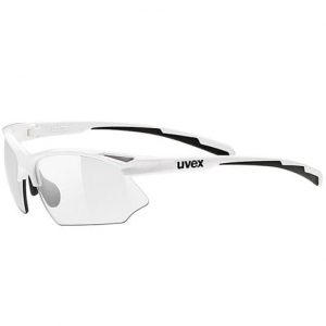 Okulary Uvex - Sportstyle 802 V White / Variomatic Smoke