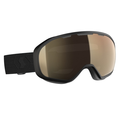 Gogle Scott Fix LS black / light sensitive bronze chrome photochromic