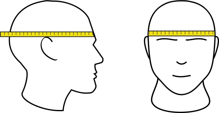 Mierzenie obwodu głowy